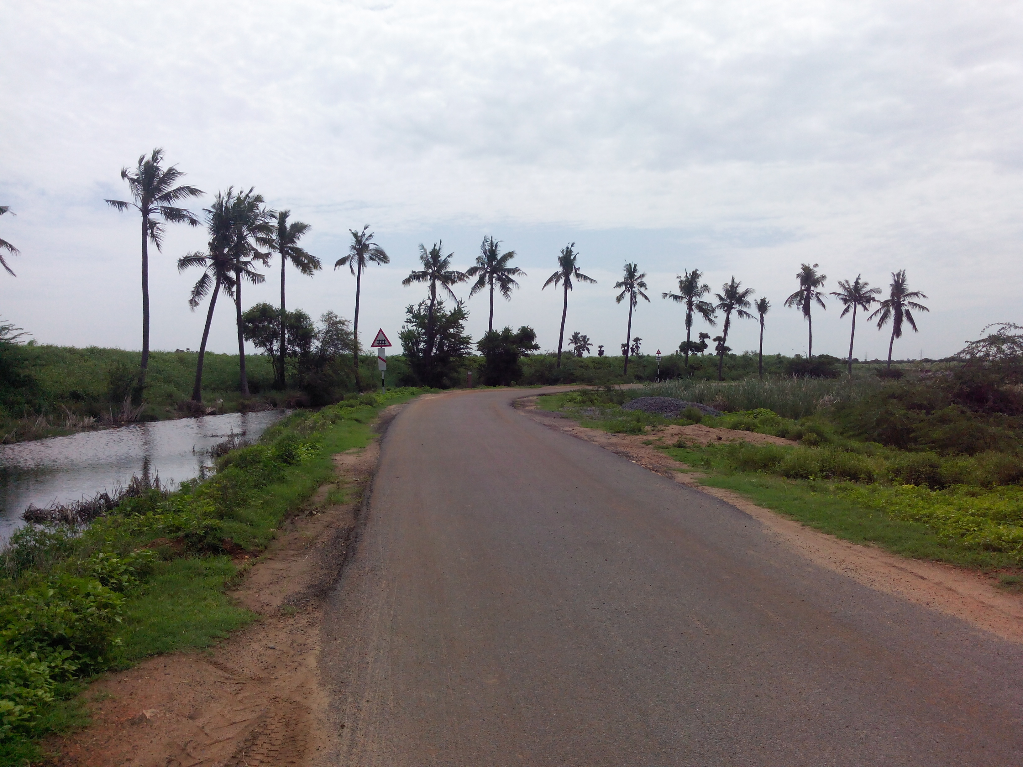 Putlacheruvu Main Road Enterance from Kanukollu Way Road