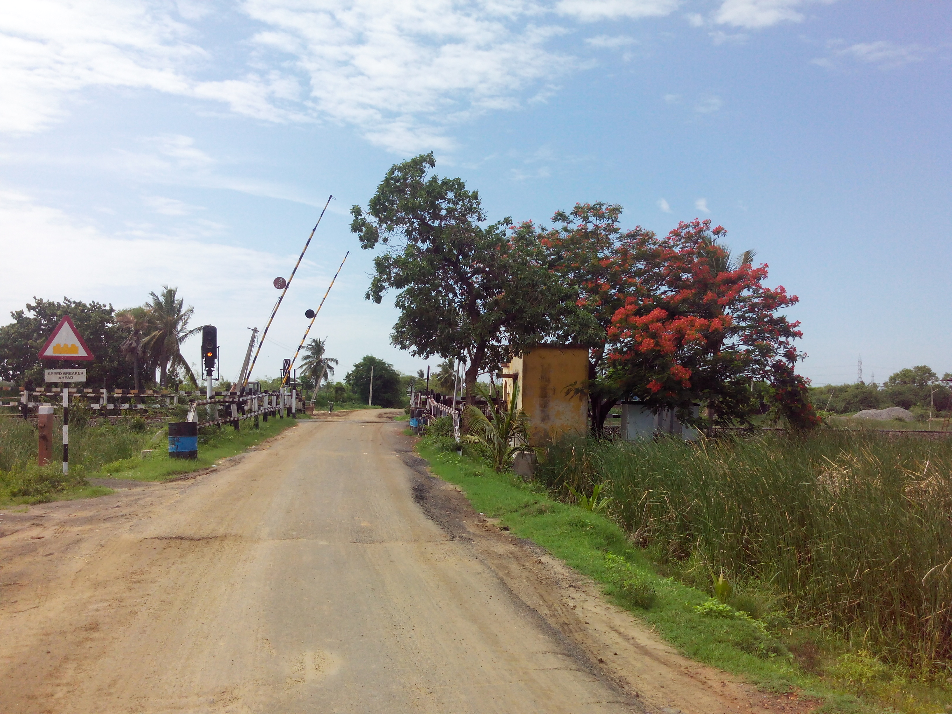 Putlacheruvu Main Road Enterance from North Railway Gate
