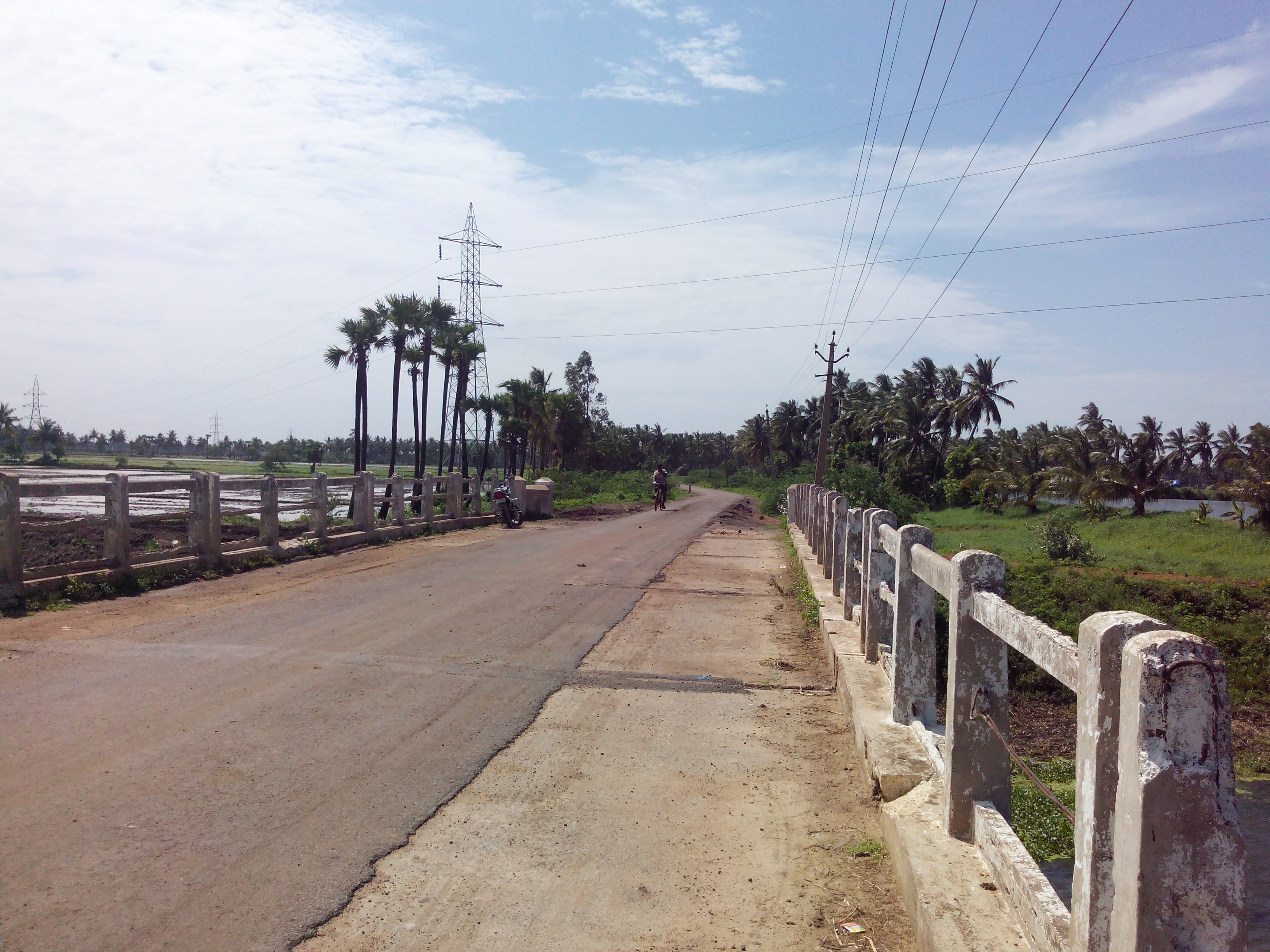 Putlacheruvu Main Road Bridge- Pedda Muruki Kaluva